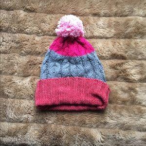 Accessories - Pink Pom Pom hat